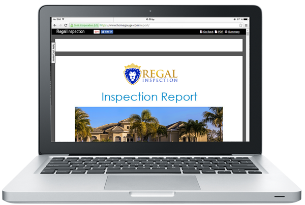 Regal Inspection Reports